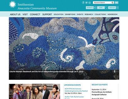Smithsonian Anacostia Community Museum Homepage